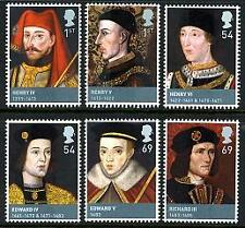 QE11 2008 FU SG2812/17 KINGS AND QUEENS STAMPS SET