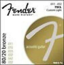 Fender Acoustic 70CL Guitar Strings  Bronze11's 70 CL Steel String Folk - Steel