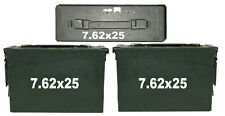 """7.62x25 ammo box( DECALS) two 4.5""""x 1.5"""" one 3""""x0.75"""" NO BOX INCLUDED"""