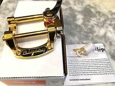 BIGSBY USA B5G VIBRATO TAILPIECE GOLD FOR GIBSON SG , LES PAUL, ES335