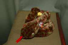 SLITHER the Coiled Snake - Ty Beanie BUDDY  - MWMT -   Fast Shipping