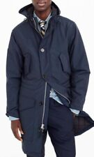 JCrew $248 Mens Hooded Snorkel Jacket Insulated M Outerwear Obsidian Navy G8551