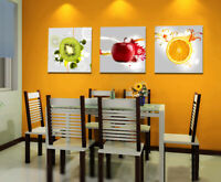 MODERN ABSTRACT WALL ART Home DECOR PRINT OIL PAINTING ON CANVAS Fruit ART