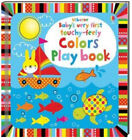 Usborne Baby's Very First Touchy Feely Colors Play Book (bb) NEW