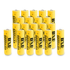 20PCS BXE 18650 Battery 9800mAh Li-ion 3.7V Rechargeable Batteries Ship from USA