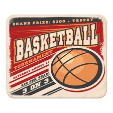 Mauspad Sport  Basketball bedruckt