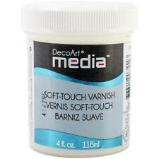 DecoArt Media Varnish 4 oz (118 ml) - Soft Touch dmm26