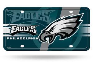 Philadelphia Eagles Green 12x6 Auto Metal License Plate Tag CAR TRUCK