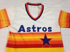 Vtg Houston Astros Jersey Mlb Baseball Throwback Retro