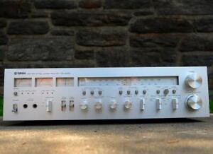 Yamaha CR-2020 stereo receiver. Rare Euro version. Box, Manual.  Multi Voltage
