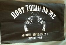 3x5 Second Amendment Flag 2nd Pistol Gun Don't Tread On Me Flag 3'x5' Trump