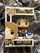 Kurt Cobain #67 Fye exclusive Funko Pop! Rocks F.Y.E. W/ Protector!