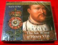 Antonia Fraser The Six Wives Of Henry VIII 6-CD Audio Book NEW SEALED Isla Blair