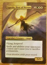 Sigarda, Host of Herons - Full Art / Altered