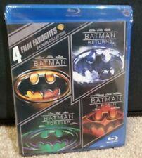 BATMAN Blu-Ray 4 Movie Set:  RETURNS, FOREVER, ROBIN New/Sealed