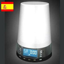 Despertador radio con Luz LED    ( te despertará gradualmente )