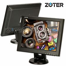 "ZOTER 12"" Inch HDMI AV BNC VGA Input LCD Monitor Screen for PC CCTV DVR Camera"