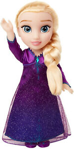 Frozen 2 Disney Elsa Musical Doll Sings Into The Unknown Fashion Kids Toy GIFT