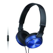 Sony MDRZX310AP/BLU Headphones Foldable Stereo Headset Earphones For Music Blue