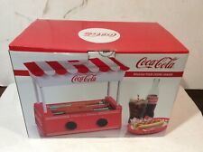 Hot Dog Roller Warmer Bratwursts Sausages Classic Coca Cola Retro Machine NEW