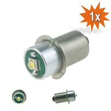 Cree LED P13.5s Lampe Birne Taschenlampe 220 lm 3W 1 - 3 Volt Weiss
