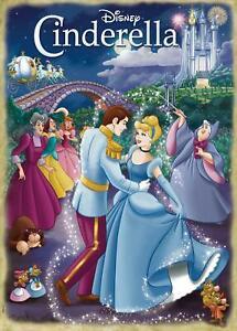 Jumbo Disney Cinderella Movie Jigsaw Puzzle (1000 Pieces)