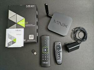MINIX NEO U1 Android Media Streamer Hub 2GB 16GB w A2 Lite Wireless Airmouse