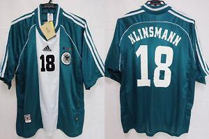 1998 Germany Deutschland Jersey Shirt Trikot Away Adidas Klinsmann #18 XL BNWT