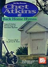 Atkins, Chet Plays Back Home Hymns  Guitar [Fingerpicking] Chet Atkins Book Only