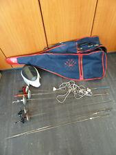 Fechten Konvolut Florett Degen Klinge Ausrüstung Set Teilweise Elektrisch Fecht