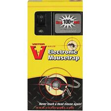 Victor Electronic Mouse Trap M2524 Pest Control No Touch Reusable Battery