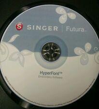 Singer Futura XL 400,420,500,550,580 & SESQ Hyperfont Software & Bonus