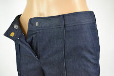 NEW Anne Klein Womens Pants Navy Two Front Pockets Size 0 $99