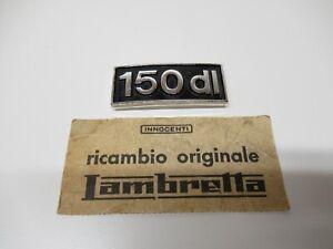 "Italian Innocenti Orig. Lambretta "" 150 DL "" Front Leg shield  Frame Badge NOS"