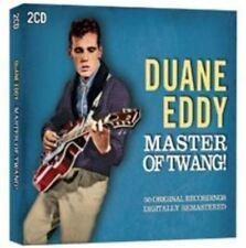 Duane Eddy Master of Twang 50 Original Recordings 2 CD