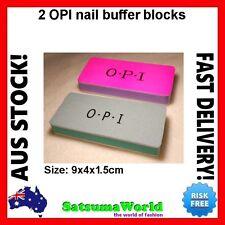 2x OPI O.P.I NAIL BUFFER SHINER BLOCK BLOCKS MANICURE POLISH Professional FILES