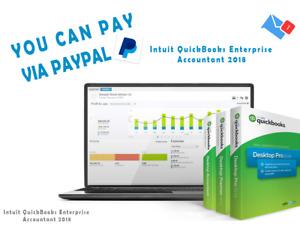 Intuit QuickBooks Enterprise Accountant 2018 Download+Key