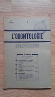 Rivista Mensile - ODONTOLOGIA - 73ème Anno - Giugno 1952, N° 6