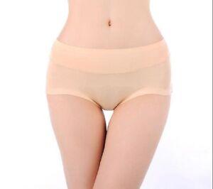 Ladies Sexy Panties Briefs Bikini Knickers Lingerie Underwear Vogue Hot XL SKIN