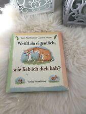 WEISST DU EIGENTLICH, WIE LIEB ICH DICH HAB? - Kinder/Bilder Buch zum Vorlesen
