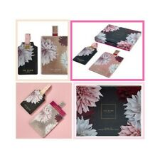 Ted Baker Clove Passport Holder and Luggage Tag Set in Gift Box Vegan Leather 🎀
