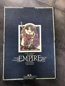 Rare Jeu De Societe «Empire» Ancien Vintage -International Team- Complet