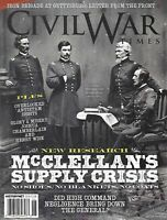 Civil War Times Magazine McClellan's Supply Crisis Joshua Chamberlain Antietam