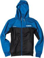 Factory Effex Licensed Yamaha Tracker Jacket Blue/Black Mens All Sizes