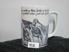 Birds on Beach Coffee Mug With Saying Generic Used                        42