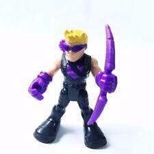 "PlaySkool Heroes HAWKEYE Marvel Adventures Super Jungle Squad Baby 2.5"" Toy gift"