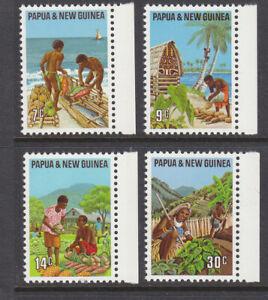 Papua New Guinea 1971 Primary Industries set mint no gum