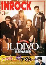 INROCK Jul 2012 7 Japan Music Magazine IL DIVO Adam Lambert