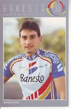 CYCLISME carte  cycliste MARINO ALONSO équipe BANESTO 1993