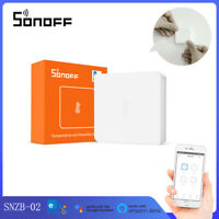SONOFF SNZB-02 Zigbee Temperature Humidity Sensor Smart APP Real-Time Monitoring